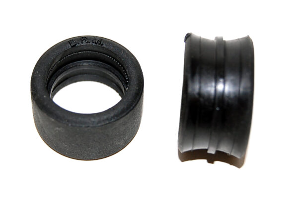 Rear rubber tires for Mégane - 25x15 (2x) - NEW type - suitable for S-046S rear wheels