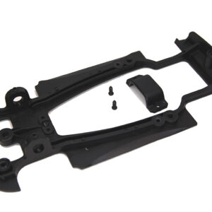 Mégane chassis with motor retainer and screws