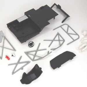 Mégane full plastic cockpit set with driver
