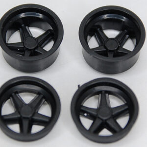 Wheel insert set for Porsche 917K - black (2+2)