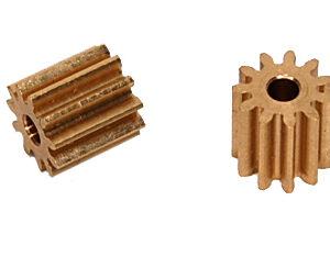 11 theet AW Brass pinion 6,5 mm Ø 6,5 (2x)