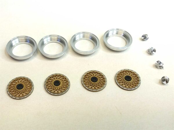 512 BBS inserts with aluminum ring and nut