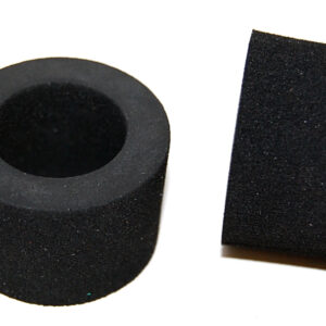 GT rear sponge tyres 28 x 15 suitable for S-308 rear wheels (2x) - NO WHEELS