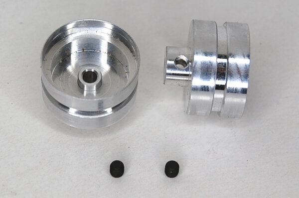 F1 GTR front wheels + M3 screws (2x)