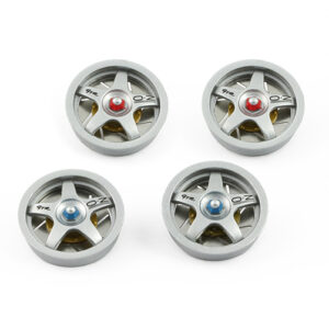 F1 GTR set painted and assembled inserts - SILVER