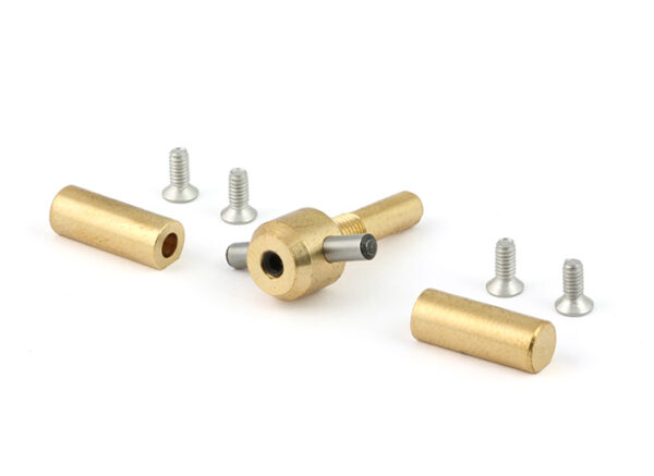 F1 GTR motor mount bi-directional joint with screws and 2.5mm pin