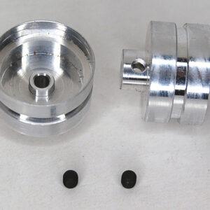 Porsche 911 GT1 front wheels + M3 screws (2x)